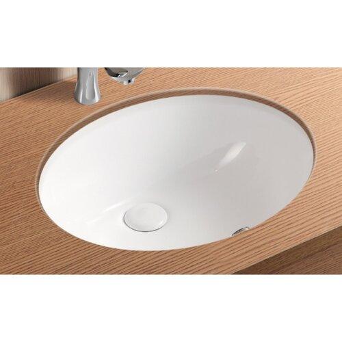 Caracalla Ceramica II Undermounted Bathroom Sink