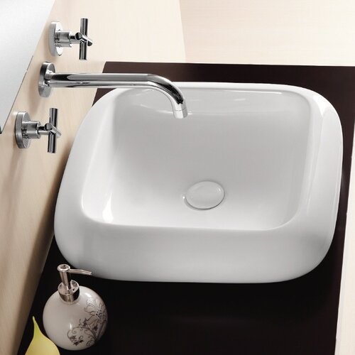 Ceramica II Vessel Bathroom Sink