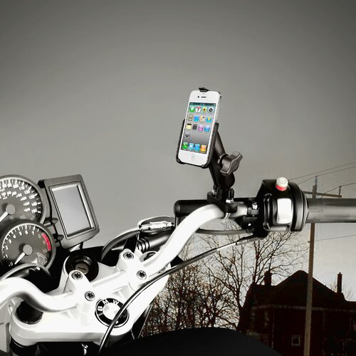 RAM Mount Handlebar Rail Apple iPhone Mount