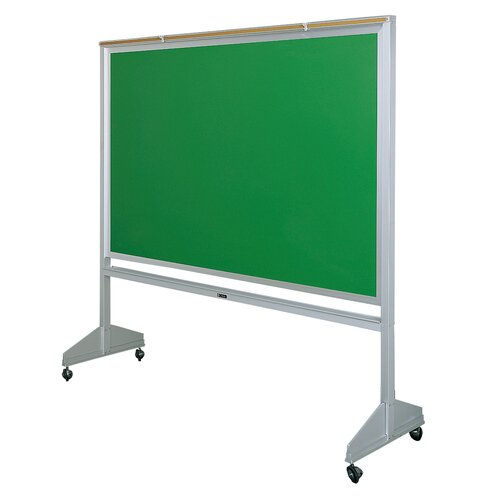 Claridge Products Deluxe Two-Sided 4' x 6' Chalkboard
