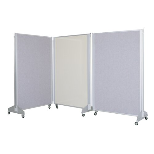 Claridge Products Premiere Portable Panelling System Whiteboard and Bulletin Board