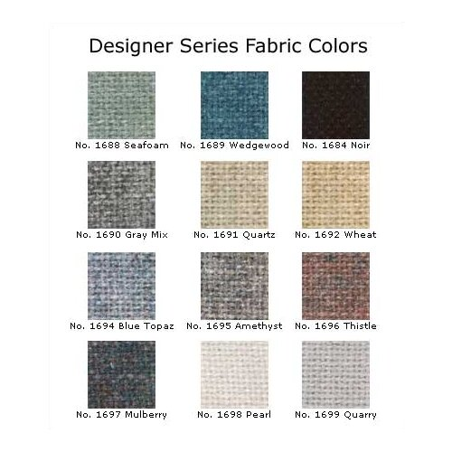"Claridge Products Large Contemporary Series (4"" Housing) with Designer Fabric"