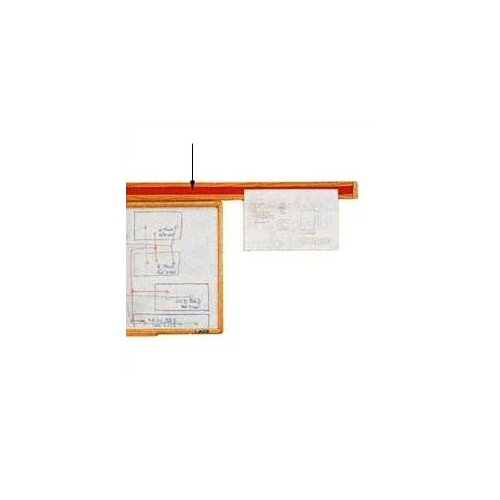 Claridge Products No.83 Wooden Display Rail