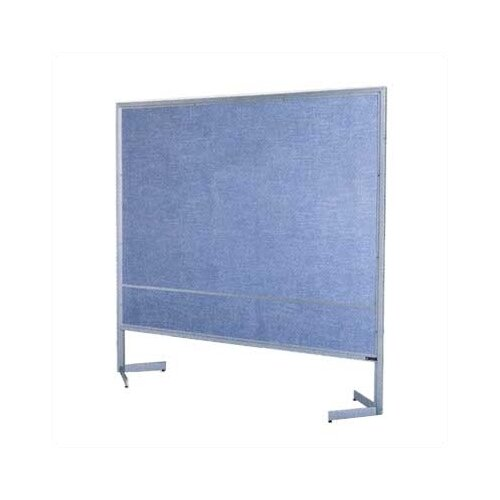 Claridge Products Premiere Portable Space Divider with Fabricork