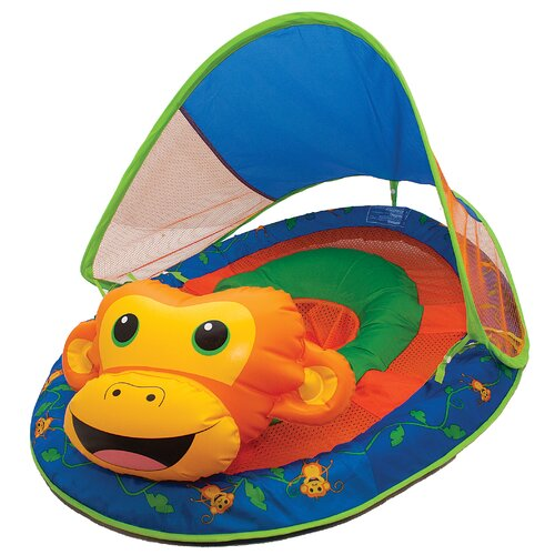 Animal Friends Monkey Baby Pool Toy