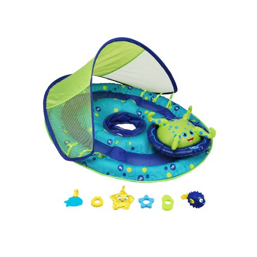 Baby Spring Activity Center with Canopy Pool Toy