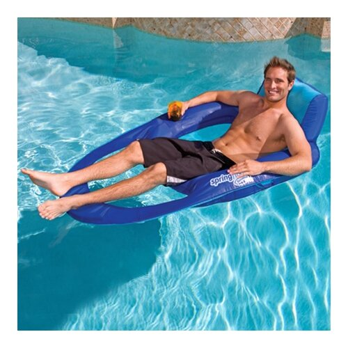 Swimways Extra Large Spring Recliner Pool Lounger