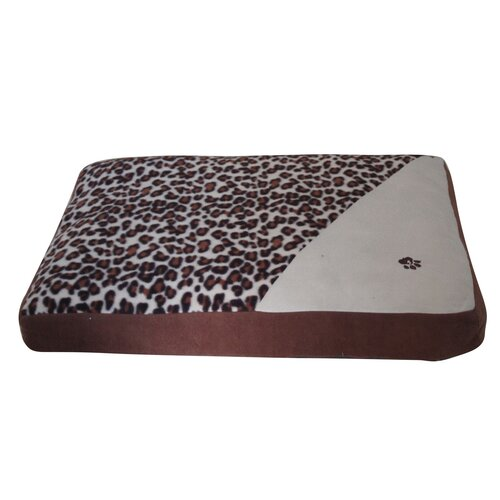 PetPals Animal Print Dog Pillow