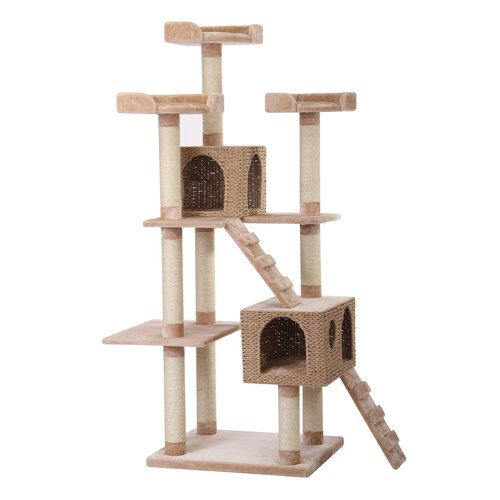 "PetPals 73"" Luxury Cat Tree"