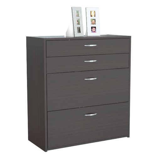 Inval 4-Drawer Storage / Filing Cabinet