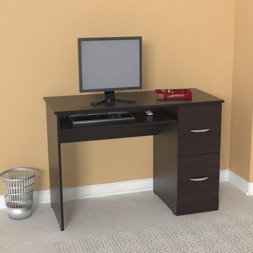 Espresso Office Computer Desk Wayfair