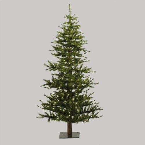 Vickerman Co. Minnesota Pine 6' Green Artificial Half Christmas Tree with Stand