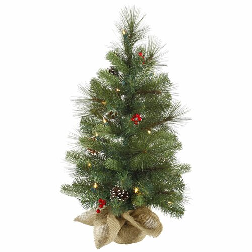 Vickerman Co. Mixed Berry Tree with 35 Lights