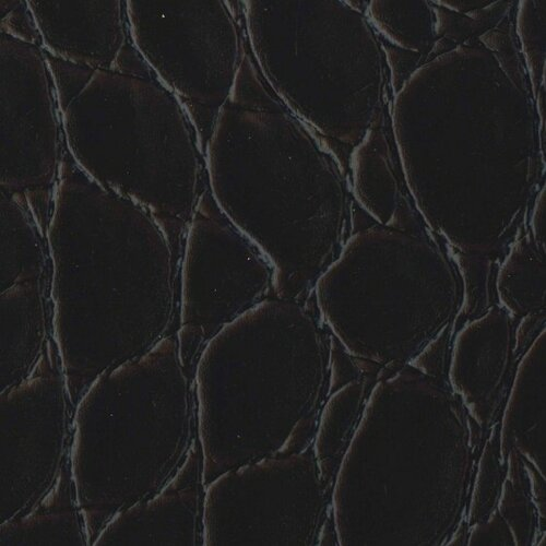 "EcoDomo Rainforest 15-1/4"" x 15-1/4"" Recycled Leather Tile in Jumbo Croc Merlot"