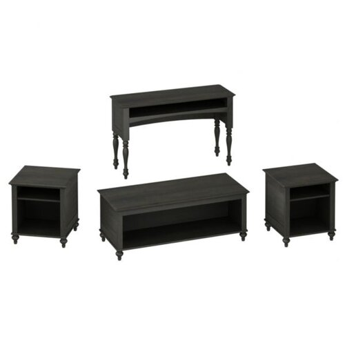Volcano Dusk 4 Piece Coffee Table Set