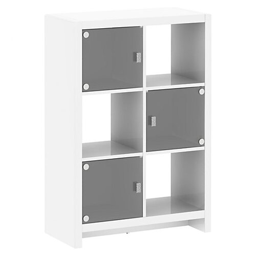 "kathy ireland Office by Bush New York Skyline 6-Cube 46.69"" Bookcase"