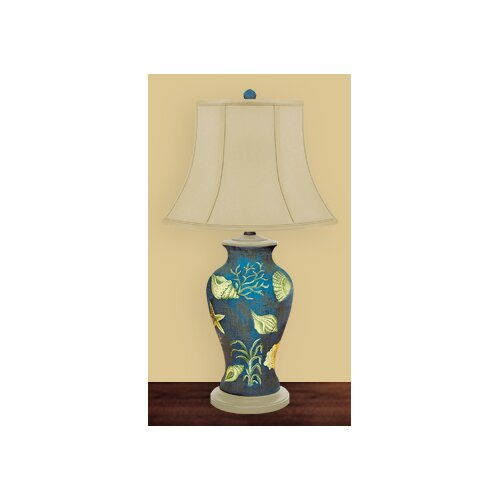 JB Hirsch Home Decor Shells in The Sea Table Lamp