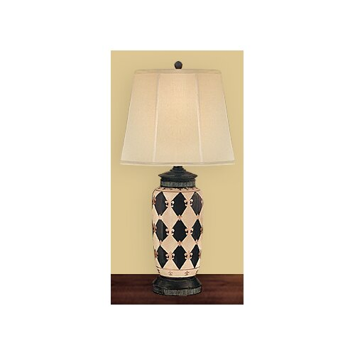 """JB Hirsch Home Decor Marquis 32"""" H Table Lamp with Empire Shade"""
