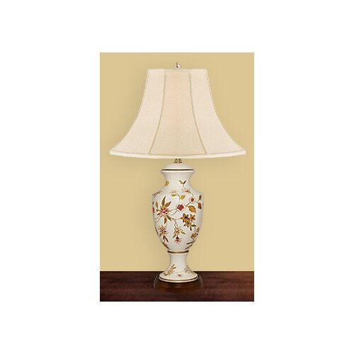 """JB Hirsch Home Decor Milano 26"""" H Table Lamp with Bell Shade"""