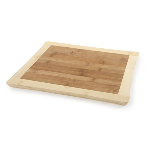 Core Bamboo Sunflower Medium Cutting Board in Two Tone