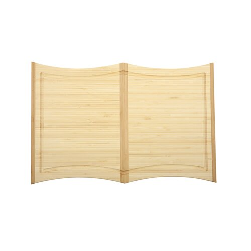 Core Bamboo Orchid Large Cutting Board in Light Natural