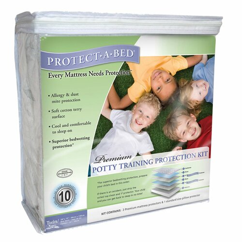 Protect-A-Bed Premium Potty Training Protection Kit