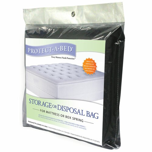 Protect-A-Bed Storage Disposal Bag for Mattress or Box Spring