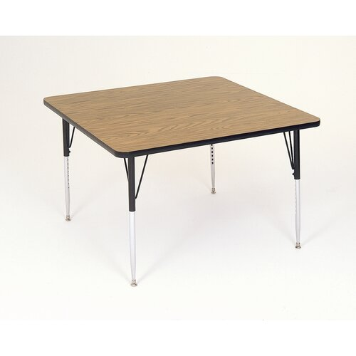 Correll, Inc. Small Square Activity Table with Standard Legs