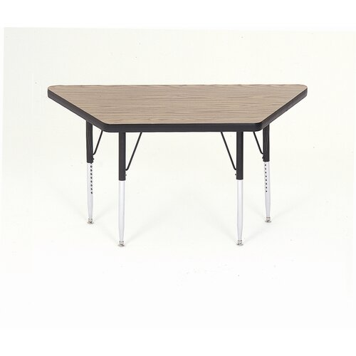 Correll, Inc. Large Trapezoid Activity Table with Short Legs