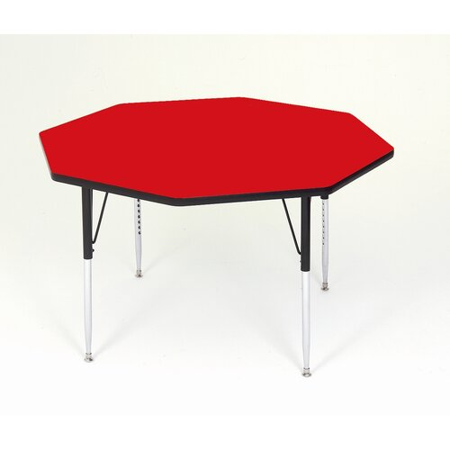 Correll, Inc. Octagonal Activity Table with Standard Legs