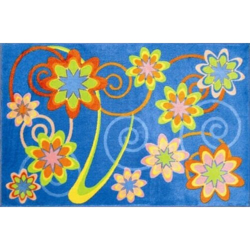 Fun Rugs Supreme Burst Flower Kids Rug