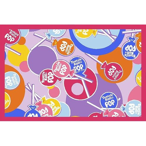Fun Rugs Tootsie Roll Pop Kids Rug