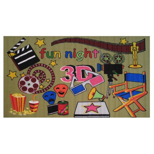 Fun Rugs Fun Time Movie Time Kids Rug