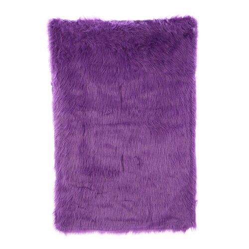Fun Rugs Flokati Purple Kids Rug