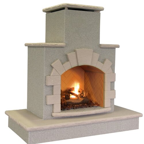 Propane Gas Outdoor Fireplace