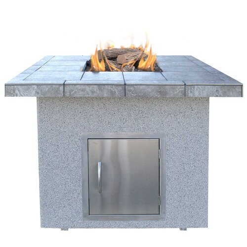 Dining Height Gas Fire Pit