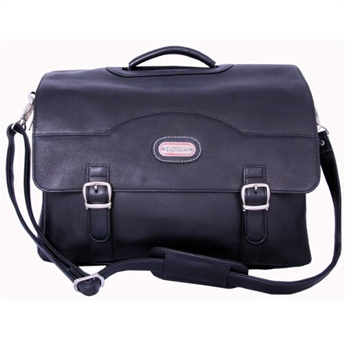 Stanford Leather Laptop Briefcase