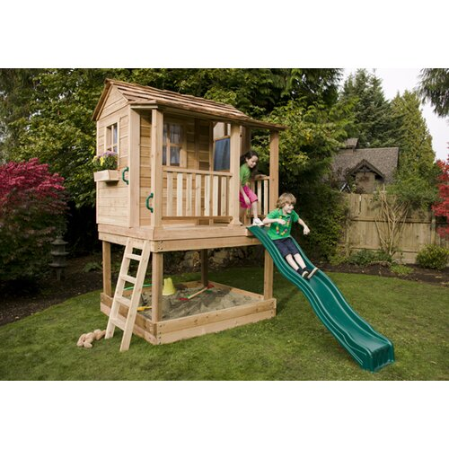 Little Squirt Playhouse With Sandbox Wayfair