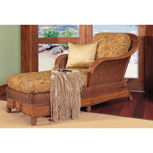 Moroccan Fabric Chaise Lounge