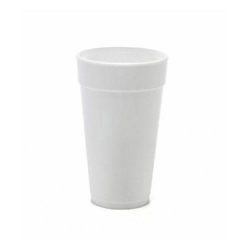 DART® 20 Oz Foam Hot / Cold Cups 25 / Bag in White