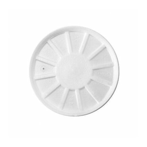 DART® Vented Foam Lids in White Fits 8 - 44 oz Cups