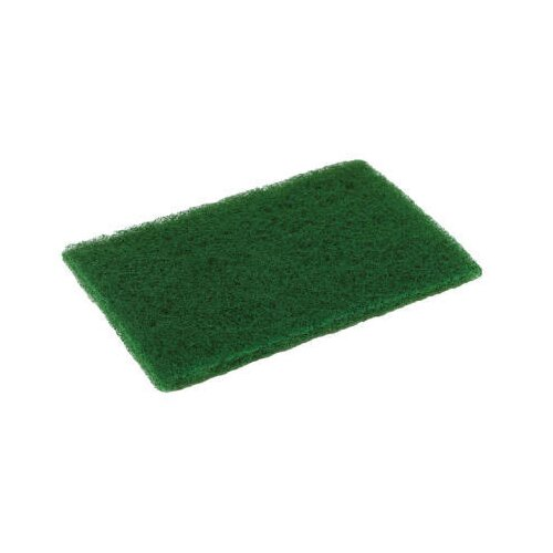 "Disco® 6"" x 9"" Medium Duty Scouring Pad in Green Pack of 10"