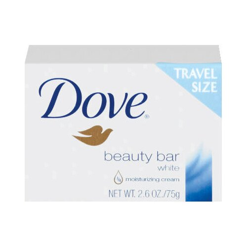 DOVE® Travel Size Bar Soap with Moisturizing Lotion - 2.6 OZ