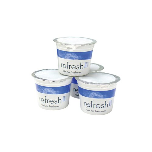 FRESH PRODUCTS 4.6 oz Re-Fresh Air Freshener Lemon Scent Gel