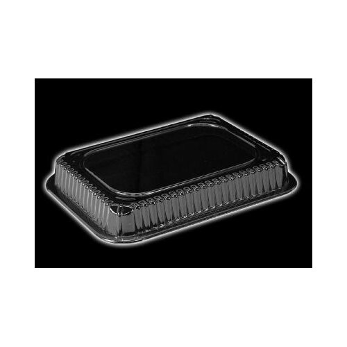 HANDI-FOIL® Plastic Dome Rectangle Lid in Clear Fits 1.5 Lb Oblong Pan