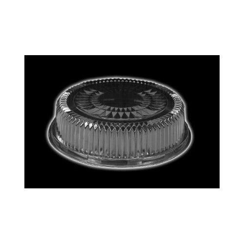 "HANDI-FOIL® 12"" Plastic Dome Embossed Round Lid 25/Case Fits 4012/4013"