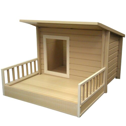 ecoChoice Santa Fe Chalet Dog House