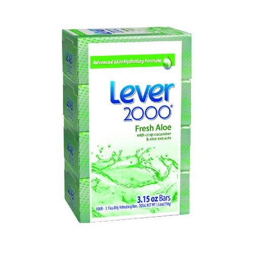 LEVER 2000® Perfectly Fresh Moisturizing Bar Hand Soap - 14 OZ / 4 per Case