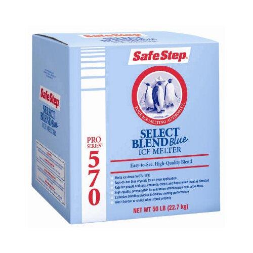 NORTH AMERICAN SALT Safe Step Pro Series 570 Select Blend Blue Ice Melt - Box