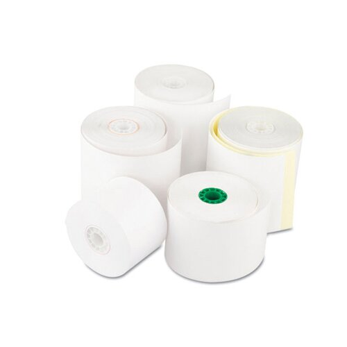 """Royal Paper 2.25"""" Register Roll in White - 1 Ply Thermal"""